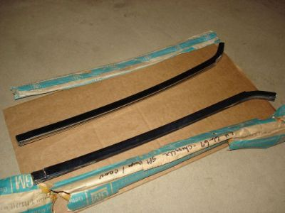 Find 1966 1967 NOS CHEVELLE SS GTO BUICK GS REAR QUARTER WINDOW CHROME SASH RARE motorcycle in Louisville, Ohio, United States, for US $879.99