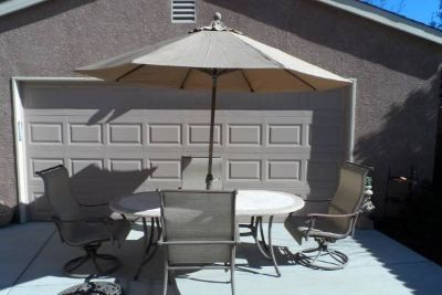 7-Pc Patio Set with Umbrella