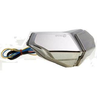 Purchase Chrome Ducati 848/1098/1198 Integrated Led Blinker Taillight motorcycle in Ashton, Illinois, US, for US $89.99
