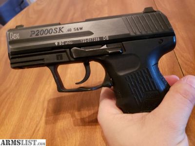 For Sale: HK P2000SK (40mm)