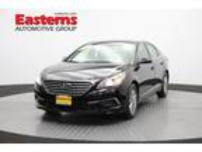 Used 2016 Hyundai Sonata Phantom Black, 34.2K miles