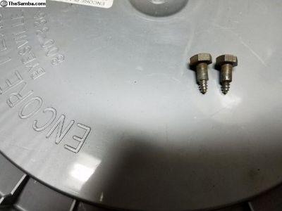 Used,oem 68-73 bumpers strips screws