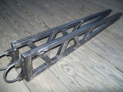"Purchase Universal Ladder Bars Traction Bars Gasser Hot Rod Rat Rod 41"" - 47'' Nostalgia motorcycle in Lehighton, Pennsylvania, United States, for US $224.99"
