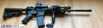 For Sale/Trade: Sopmod m4 with Eotech