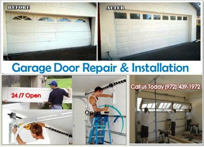 24/7 Residential Garage Door Installation ($25.95) McKinney, 75069 TX