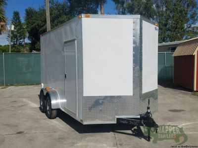 """7x14 Enclosed Trailer...+12"""" EXTRA TALL"""