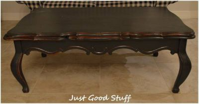 Large Coffee Table with Side Pull Outs