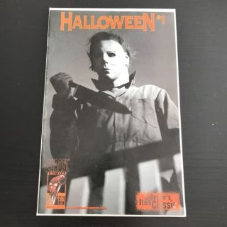 RARE Chaos Comics! Slasher Horror Michael Meyers Halloween #1 Comic Book Collector's Item Classic