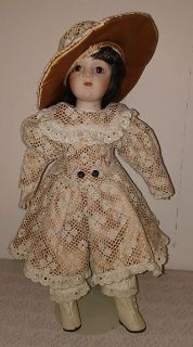 Porcelain Musical Doll