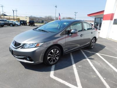 2013 Honda Civic EX-L (Polished Metal Metallic)