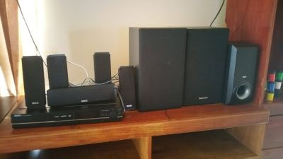 Surround Speakers(RCA) with 2 extra speakers