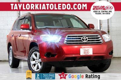 2008 Toyota Highlander Base (Salsa Red Pearl)