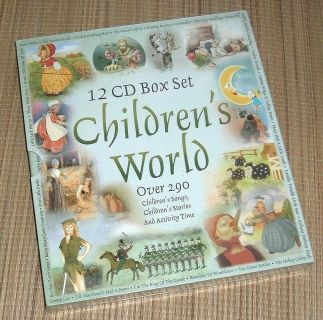 NEW Childrens World 12 CD Box Set Over 290 Songs Stories Activities