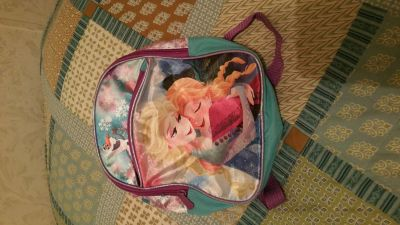 Frozen Elsa and Anna small backpack