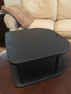 Small plastic shelving unit for desk or cabinet