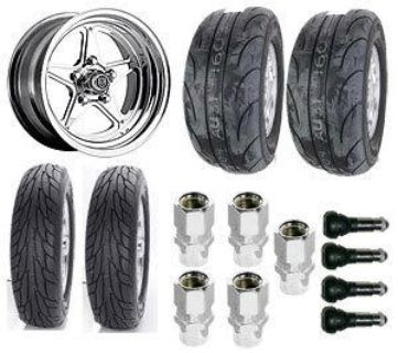 Find Center Line Wheels 7215805547K Muscle Car Wheel & Tire Package motorcycle in Delaware, Ohio, US, for US $1,807.97