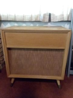 Retro Stereophonic console record player