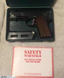 For Sale: Star Pd 45ACP with holster and 1 Mag in the box