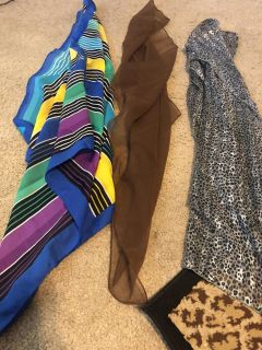 3 scarves $2 for all 3. Avery Park