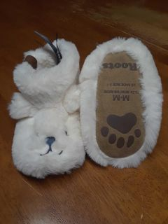 Brand new Roots slippers great Christmas gift