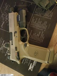 For Sale/Trade: FNX TACTICAL WITH TRIJICON RED DOT