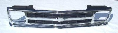 Find Chrome Gray bar style GRILLE 1991 1992 1993 S-10 Pickup 1994 Blazer FAST SHIP motorcycle in Saint Paul, Minnesota, US, for US $94.75