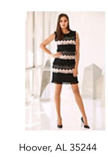 Beautiful High End Boutique Black And White Crochet Lae Dress