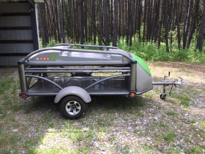 2014 Sylvansport GO CAMPER AND UTILITY TRAILER COMBO