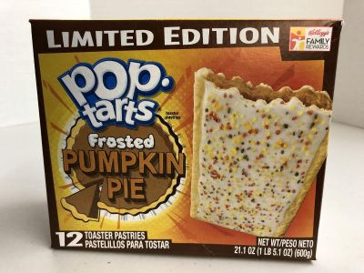USA Food - Limited Edition Frosted Pumpkin Pie Pop Tarts