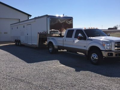 2001 40' T&E Trailer with 2011 F450
