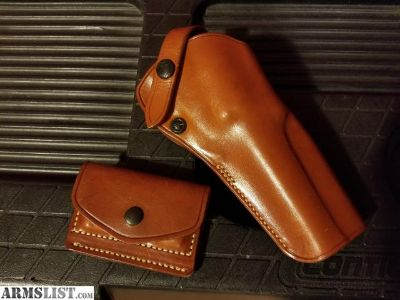 For Sale/Trade: Galco Single Action Outdoorsman Holster and 2x2x2 Ammo Pouch