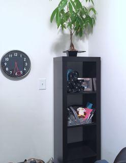 Modern Cube-Style Bookcase/Bookshelf (Brown, Wood)