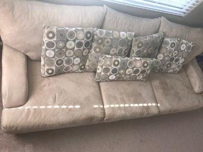 $100, Large Deep Seat Sofa