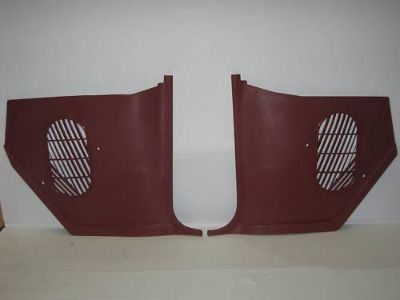 Find 64 Chevelle & El Camino Kick Panels Non-Air Red motorcycle in Placentia, California, US, for US $76.00