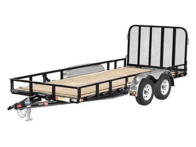 2019 PJ Trailers 83 in. Tandem Axle Channel Utility (UL) 16 ft. Utility Trailers Monroe, MI