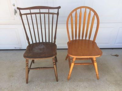 Wood chairs for your project $3.00 each