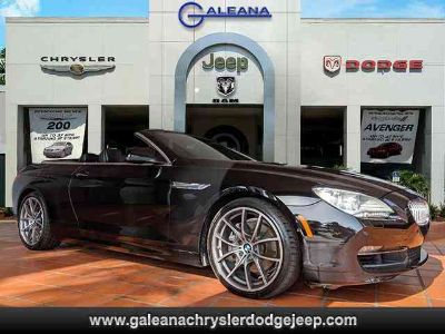 Used 2012 BMW 6 Series 2dr Conv