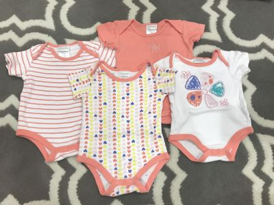 Size 3-6 month Onesies