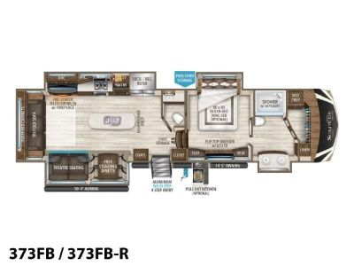 2019 Grand Design Solitude 373FB/373FB-R