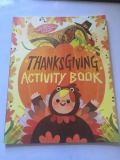 New Thanksgiving activity book