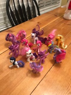 My little pony figures