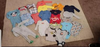 Baby boy clothing lot size 6 months