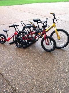 Rider starter bikes, great Christmas gifts!!