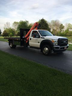 2012 Palfinger 2012 PK 6501A Ford F-550 Flatbed