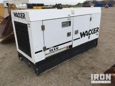 2006 Wacker G70 72 kVA Gen Set