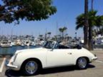 1964 Porsche 356 C Cabriolet Convertible