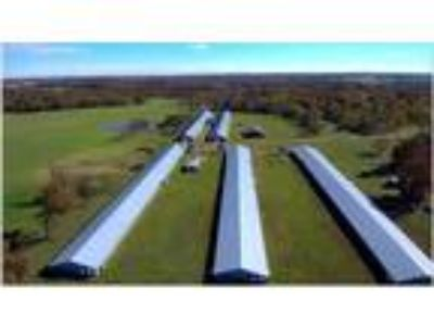 Chicken Farm For Sale in Arkansas