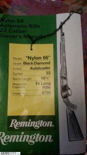For Sale/Trade: Nylon 66