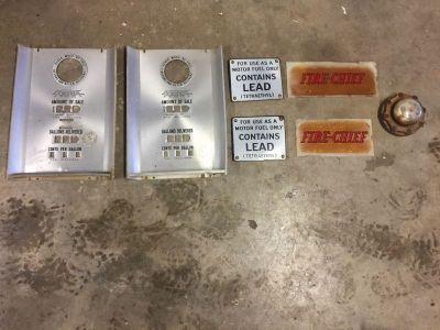 Original fire chief ad glasses and tokhiem parts!!