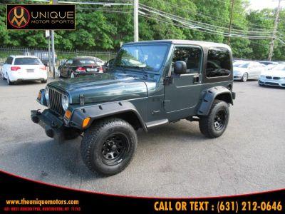 2006 Jeep Wrangler X (Deep Beryl Green Pearl)